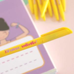 Bolígrafo ¡Vamos valiente!