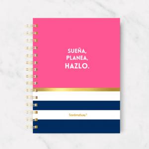 Cuaderno sueña, planea, hazlo