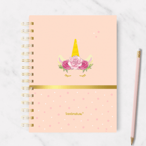 cuaderno unicornio