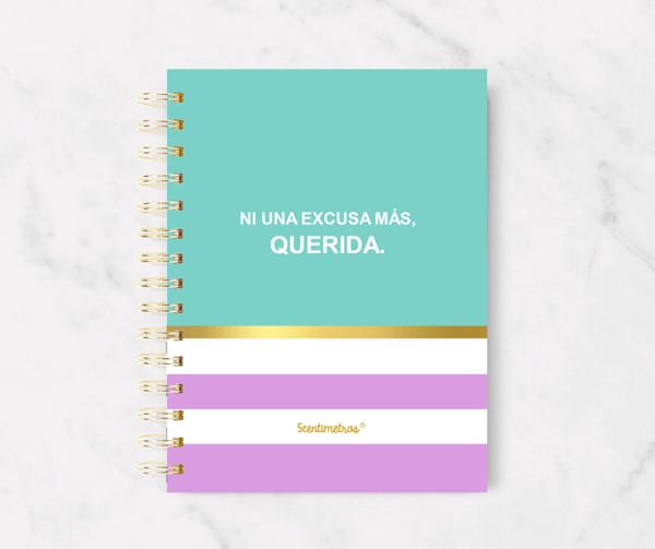 Cuaderno ni una excusa más, querida