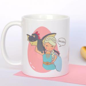 Taza de desayuno Daenerys Targarian