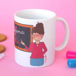 Taza de desayuno Maestra