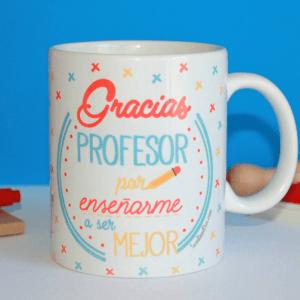 Taza de desayuno Gracias profesor