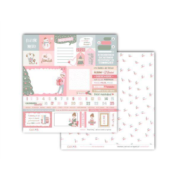 kit de papeles para scrapbooking calma 10