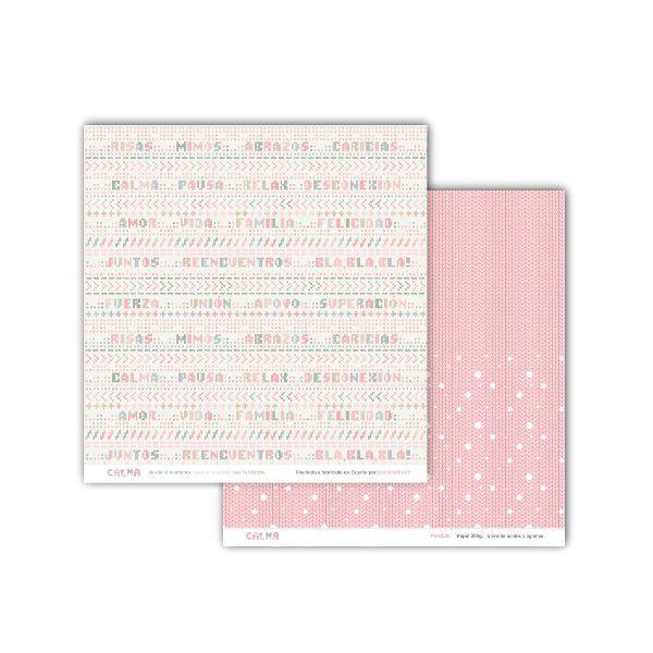 kit de papeles para scrapbooking calma 5