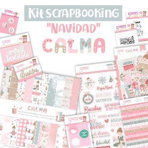 kit de scrapbooking colección calma