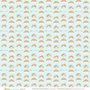 papel scrapbooking para imprimir arcoíris