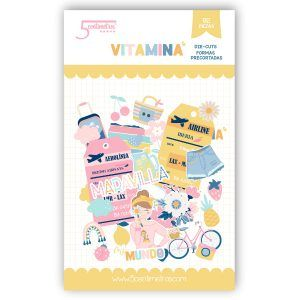 die cuts scrapbooking vitamina