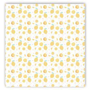 papel vellum scrapbooking limones