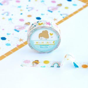 washi tape arcoiris