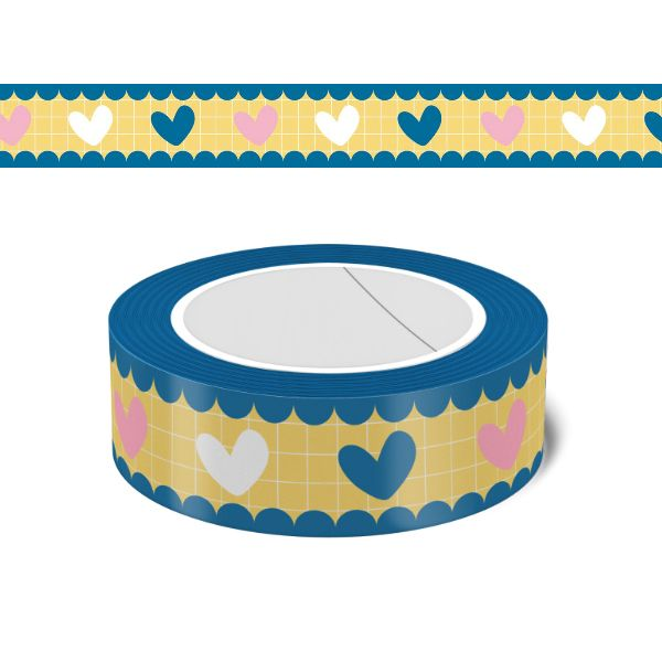 washi tape corazones